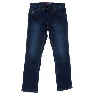 3717 Bigboss джинсы мужские полубатальные синие на флисе зимние стрейчевые (32-38, 8 ед.) Bigboss: артикул 1102296