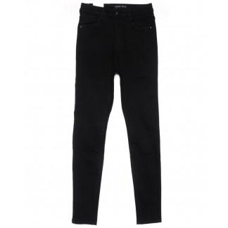 0305 Forest jeans американка полубатальная черная осенняя стрейчевая (28-33, 6 ед.) Forest Jeans: артикул 1102305