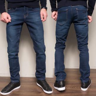 2104 Dsouaviet джинсы мужские синие на флисе зимние стрейчевые (29-38, 8 ед.) Dsouaviet: артикул 1103077