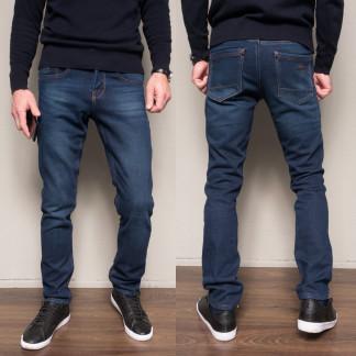 2099 Dsouaviet джинсы мужские синие на флисе зимние стрейчевые (29-38, 8 ед.) Dsouaviet: артикул 1103083