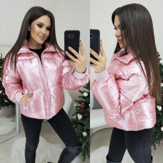 0833 Lucky Five куртка женская розовая зимняя (M-XL. 3 ед.) Lucky Five: артикул 1102385