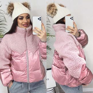 5901 розовая ManQi куртка женская зимняя (M-XL, 3 ед.) ManQi: артикул 1102426