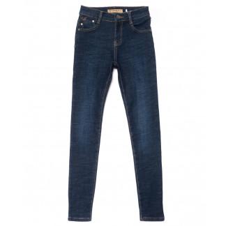 1936 синие X&D джинсы женские  на флисе зимние стрейчевые (25-30, 6 ед.) X&D: артикул 1102494