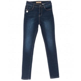 1937 синие X&D джинсы женские  на флисе зимние стрейчевые (25-30, 6 ед.) X&D: артикул 1102497