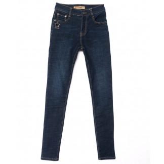 1932 синие X&D джинсы женские  на флисе зимние стрейчевые (25-30, 6 ед.) X&D: артикул 1102498