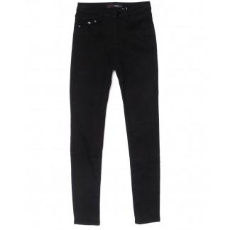 2068 черные X&D джинсы женские  на флисе зимние стрейчевые (25-30, 6 ед.) X&D: артикул 1102499