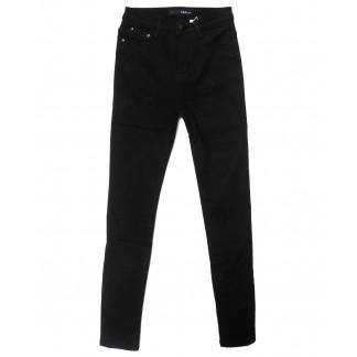 2066 черные X&D джинсы женские  на флисе зимние стрейчевые (25-30, 6 ед.) X&D: артикул 1102501