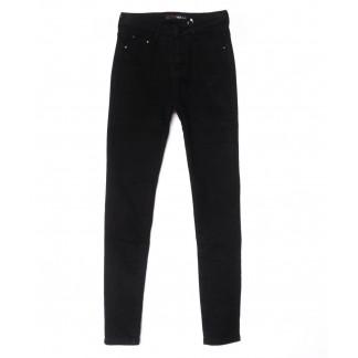 2069 черные X&D джинсы женские  на флисе зимние стрейчевые (25-30, 6 ед.) X&D: артикул 1102502