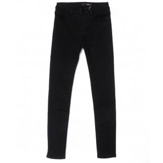 2072 черные X&D джинсы женские  на флисе зимние стрейчевые (25-30, 6 ед.) X&D: артикул 1102505
