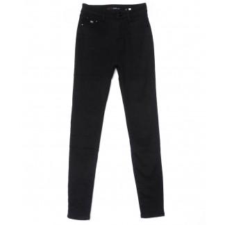 2080 черные X&D джинсы женские  на флисе зимние стрейчевые (25-30, 6 ед.) X&D: артикул 1102508
