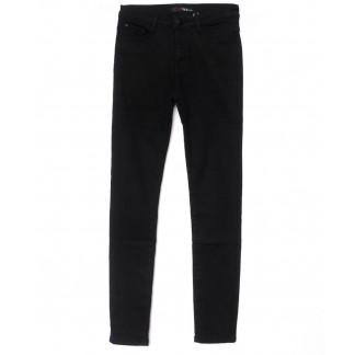 2070 черные X&D джинсы женские  на флисе зимние стрейчевые (25-30, 6 ед.) X&D: артикул 1102509