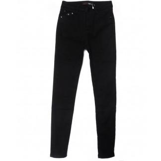 2067 черные X&D джинсы женские  на флисе зимние стрейчевые (25-30, 6 ед.) X&D: артикул 1102510