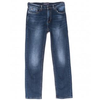 0802 синие Bashanjiu джинсы мужские полубатальные осенние стрейчевые (32-38, 8 ед.) Bashanjiu: артикул 1102523