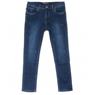 3565 Bagrbo джинсы мужские синие молодежные с царапками на флисе зимние стрейчевые (28-36, 8 ед.) Bagrbo: артикул 1102718