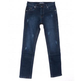 0880 Bagrbo джинсы мужские синие молодежные с царапками на флисе зимние стрейчевые (27-34, 8 ед.) Bagrbo: артикул 1102720