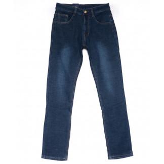 0501 Jrokko джинсы мужские синие на флисе зимние стрейчевые (29-38, 8 ед.) Jrokko: артикул 1102796