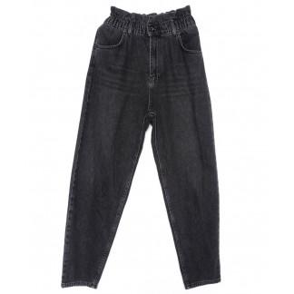 1573 Fume ITS джинсы-баллон темно-серые весенние стрейчевые (34-42, евро, 6 ед.) Its Basic: артикул 1102832