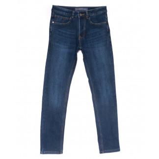 0762 Likgass джинсы мужские синие на флисе зимние стрейчевые (30-38, 8 ед.) Likgass: артикул 1102999
