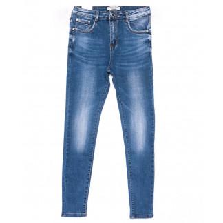 0318 Forest Jeans американка полубатальная синяя весенняя стрейчевая (28-33, 6 ед.) Forest Jeans: артикул 1103108-1