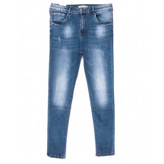0322 Forest Jeans американка батальная синяя весенняя стрейчевая (31-38, 6 ед.) Forest Jeans: артикул 1103110-1