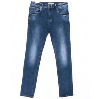 0328 Forest Jeans американка батальная синяя весенняя стрейчевая (30-36, 6 ед.) Forest Jeans: артикул 1103112-1
