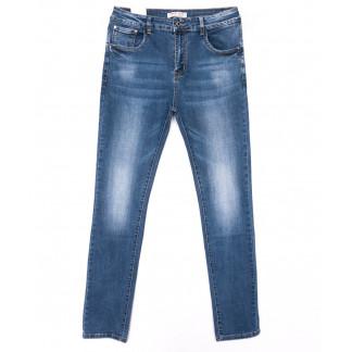 0329 Forest Jeans американка батальная синяя весенняя стрейчевая (31-38, 6 ед.) Forest Jeans: артикул 1103114-1