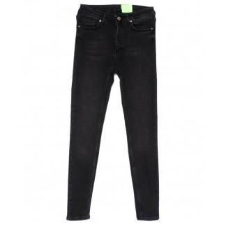 2183 X джинсы женские зауженные серые весенние стрейчевые (34-42,евро, 4 ед.) X: артикул 1103150