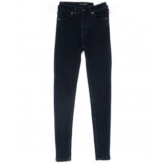 1525-1 Blue Black Its Basic джинсы женские зауженные темно-синие весенние стрейчевые (26-31, 6 ед.) Its Basic: артикул 1103222