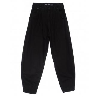 49132 DK джинсы-баллон черные весенние коттоновые (26-31, 6 ед.) Its Basic: артикул 1103230