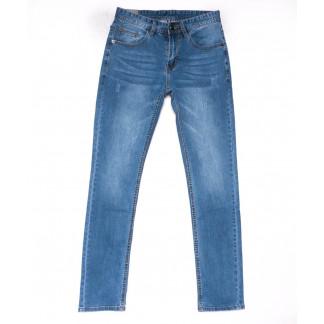 9013 Mark Walker джинсы мужские с царапками синие весенние стрейчевые (29-36, 8 ед.) Mark Walker: артикул 1103303