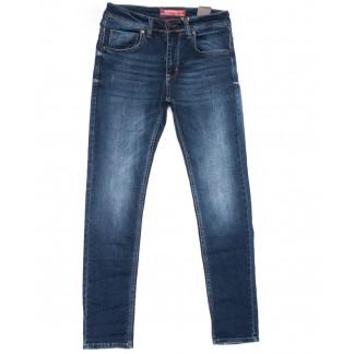 6166 Fashion Red джинсы мужские синие весенние стрейчевые (29-36, 8 ед.) Fashion Red: артикул 1103341