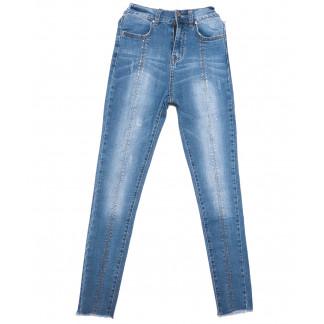 3639 New jeans джинсы женские зауженные синие весенние стрейчевые (25-30, 6 ед.) New Jeans: артикул 1103385