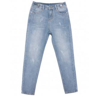 3649 New jeans мом синий весенний коттоновый (25-30, 6 ед.) New Jeans: артикул 1103389