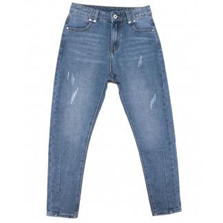 3648 New jeans мом синий весенний коттоновый (25-30, 6 ед.) New Jeans: артикул 1103390