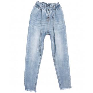 3630 New jeans мом синий весенний коттоновый (25-30, 6 ед.) New Jeans: артикул 1103392