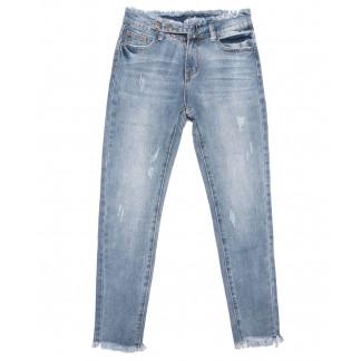 3632 New jeans мом синий весенний коттоновый (25-30, 6 ед.) New Jeans: артикул 1103393