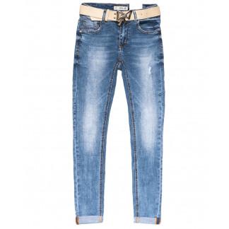 96393 Jo&Jo джинсы женские зауженные синие весенние стрейчевые (25-30, 6 ед.) Jo&Jo: артикул 1103526