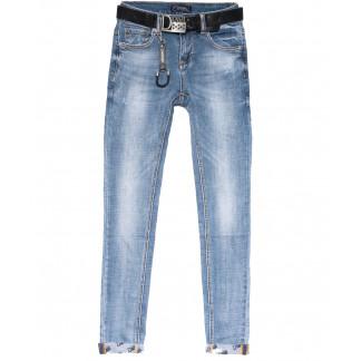 7035 Dknsel джинсы женские зауженные синие весенние стрейчевые (25-30, 6 ед.) Dknsel: артикул 1103528