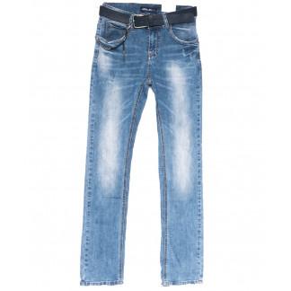 96380 Jo&Jo джинсы женские полубатальные зауженные синие весенние стрейчевые (28-33, 6 ед.) Jo&Jo: артикул 1103531
