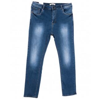0340 Forest Jeans американка батальная синяя весенняя стрейчевая (32-42, 6 ед.) Forest Jeans: артикул 1103548