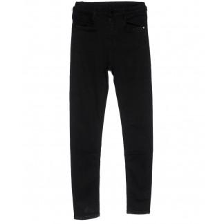 0126 Lelena джинсы женские зауженные черные весенние стрейчевые (25-30, 6 ед.) Lelena: артикул 1103606