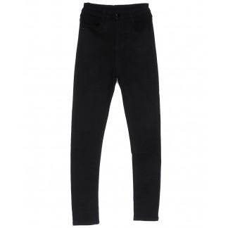 0133 Lelena джинсы женские зауженные черные весенние стрейчевые (25-30, 6 ед.) Lelena: артикул 1103617