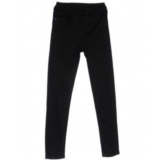 0129 Lelena джинсы женские зауженные черные весенние стрейчевые (25-30, 6 ед.) Lelena: артикул 1103619
