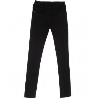 0163 Lelena джинсы женские зауженные черные весенние стрейчевые (25-30, 6 ед.) Lelena: артикул 1103621