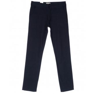 0869 Plus Press брюки мужские темно-синие весенние стрейчевые (29-36, 8 ед.) Plus Press: артикул 1103685
