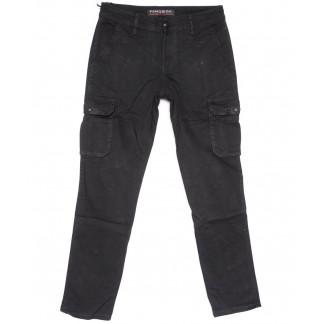 2124 Fangsida брюки мужские карго черные весенние стрейчевые (29-36, 8 ед.) Fangsida: артикул 1103692
