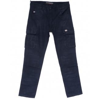 2129 Fangsida брюки мужские карго синие весенние стрейчевые (30-38, 8 ед.) Fangsida: артикул 1103695