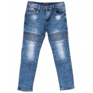8345 Fangsida джинсы мужские синие весенние стрейчевые (30-38, 8 ед.) Fangsida: артикул 1103702
