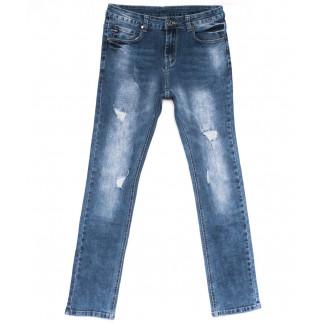 2044 New jeans джинсы мужские молодежные синие весенние стрейчевые (28-36, 8 ед.) New Jeans: артикул 1103711