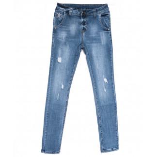 2045 New jeans джинсы мужские молодежные синие весенние стрейчевые (28-36, 8 ед.) New Jeans: артикул 1103712
